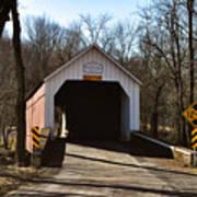 Sheards Mill Covered Bridge - Bucks County Pa Poster