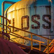 Sloss Furnaces Poster