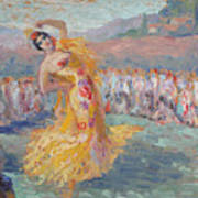 Spain Dancer Poster