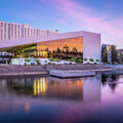 Spokane Washington City Skyline And Convention Center Poster