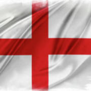 St George's Cross Poster