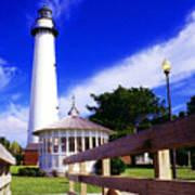 St Simons Island Lighthouse Poster