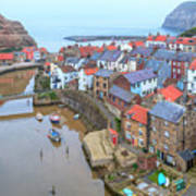 Staithes - England Poster
