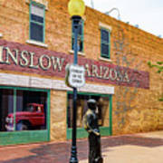 Standing On The Corner - Winslow Arizona Poster