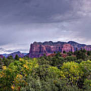 Storm Over Sedona  Poster