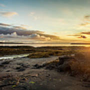 sunset Iceland Poster