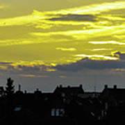 Sunset In Koln Poster