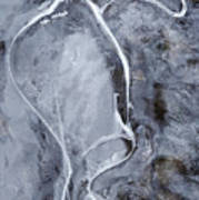 Texture Of Ice Poster