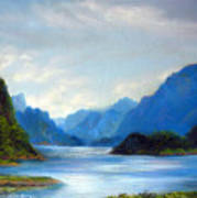 Thai Landscape Poster