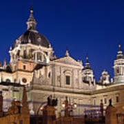 The Almudena Cathedral Poster