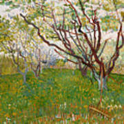 The Flowering Orchard Poster