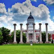 The Francis Quadrangle - University Of Missouri Poster