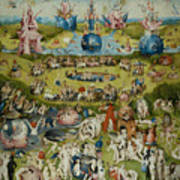 The Garden Of Earthly Delights Poster
