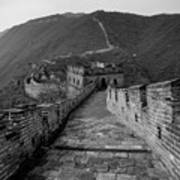 The Mutianyu Section Of The Great Wall Of China, Mutianyu Valley Poster