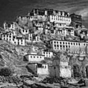 Thiksey Monastery Poster