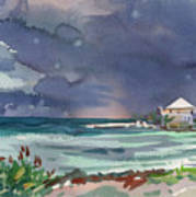 Thunderstorm Over Key West Poster