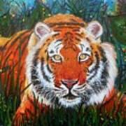 Tiger- Large Work Poster