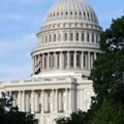 U S Capitol Poster
