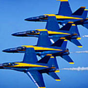 Us Navy Blue Angels Poster