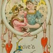 Valentine Design Six Poster