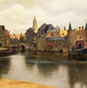 View Of Delft Poster
