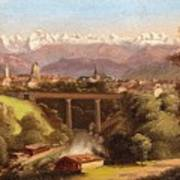 views of Bern and the Bernese Oberland Poster