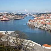 Vila Nova De Gaia And Porto In Portugal Poster