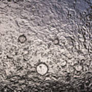 Water Abstraction - Liquid Metal Poster