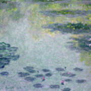 Waterlilies Poster by Claude Monet