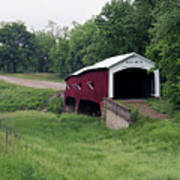 West Union Covered Bridge, Indiana Poster