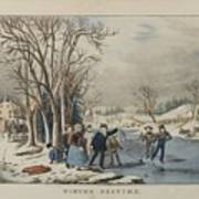 Winter Pastime Poster