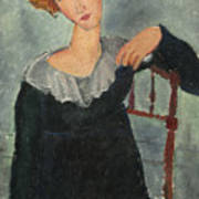 Woman With Red Hair Poster