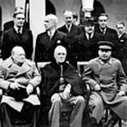 Yalta Conference, 1945 Poster by Granger