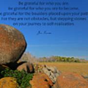 20- Be Grateful Poster