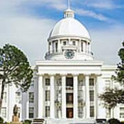 Facade Of A Government Building Poster