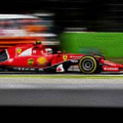 Ferrari Formula 1 Monza Poster