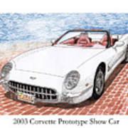 2003 Corvette Prototype Poster