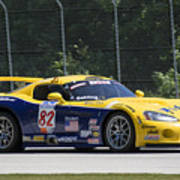 2003 Dodge Viper Gts-r At Road America Poster