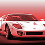 2006 Ford Production Gt Ia Poster