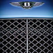 2007 Bentley Continental Gtc Convertible Hood Ornament Poster