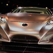 2007 Lexus Lf-a Exotic Sports Car Concept No 2 Poster
