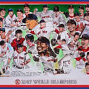 2007 World Series Champions Poster