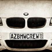 2008 Bmw Grille Emblem -1136s Poster