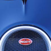 2008 Bugatti Veyron Hood Ornament Poster