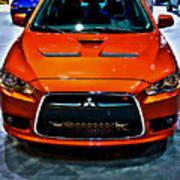 2009 Mitsubishi Lancer Poster