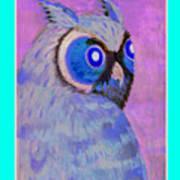 2009 Owl Negative Poster