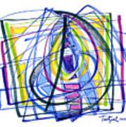 2010 Abstract Drawing Nineteen Poster