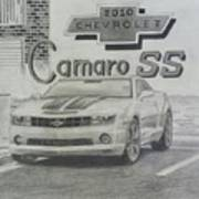 2010 Chevrolet Camaro Ss  Poster