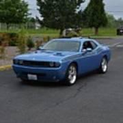 2010 Dodge Challenger Amilowski Poster