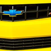 2010 Nickey Camaro Grille Emblem Poster